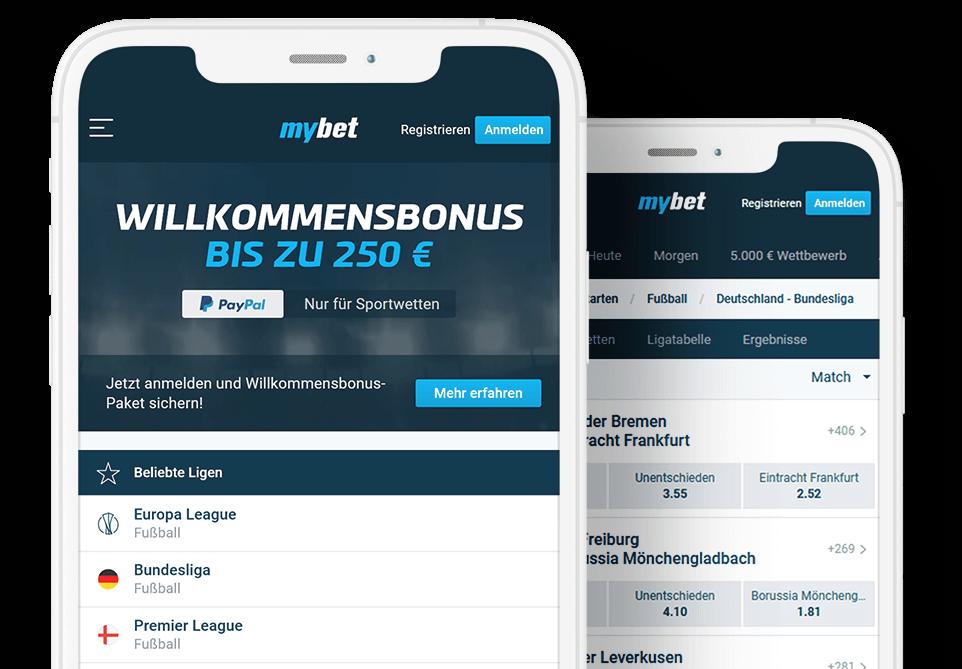 mybet.de Sportwetten Bonus