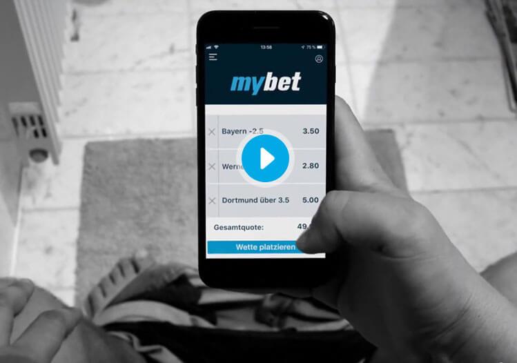 mybet TV Werbung